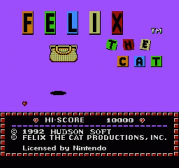Скачать игру felix the cat