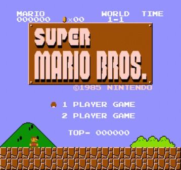 Skacat igri super Mario