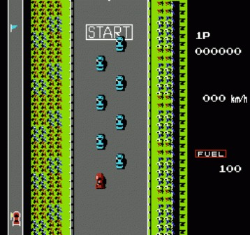 Игру road figter